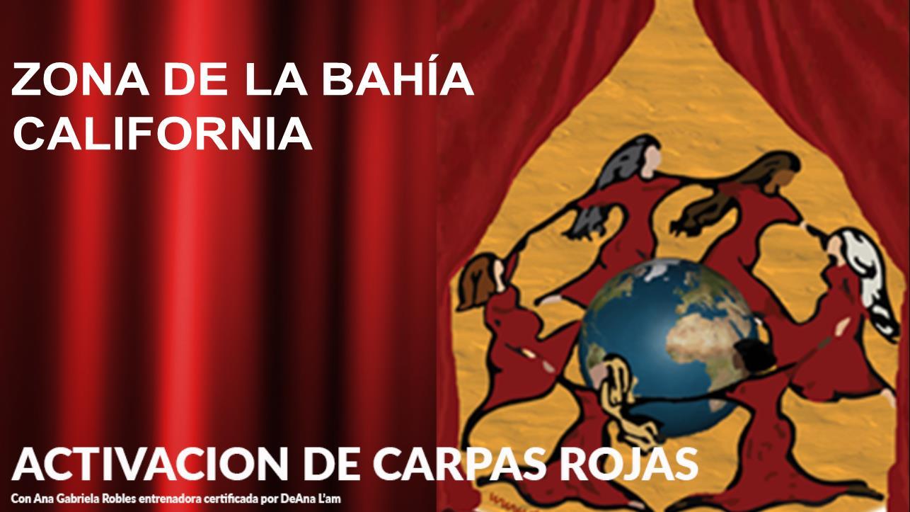Activación de Carpas Rojas en Zona de la Bahía California